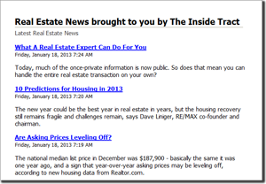 Inside Tract News Feed